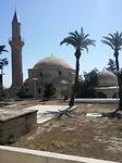De moskee Hala Sultan Tekke