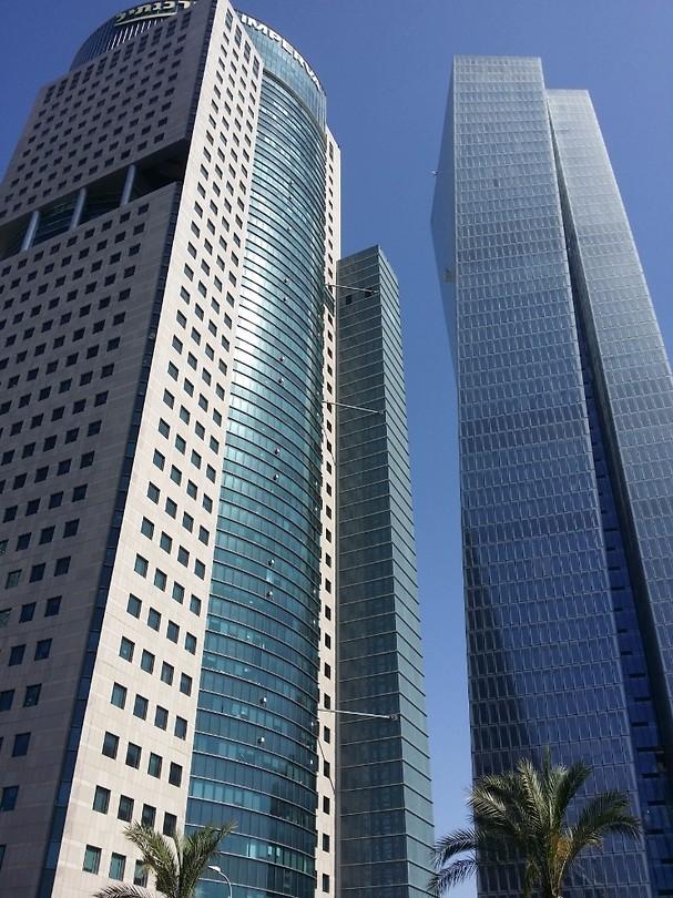Hoogbouw in Tel Aviv