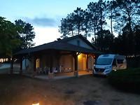 de gite op de camping municipal