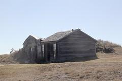 Klein huis op de prairie