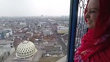 Bandung City view vanuit de moskee