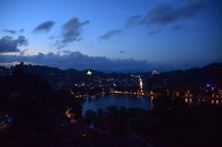Mooi uitzicht over Kandy