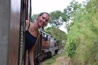 De treinrit van Nuwara Eliya naar Ella