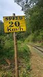 Maximumsnelheid trein