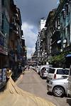 Straatbeeld Yangon