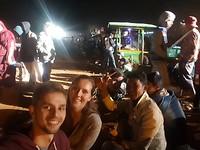 Selfie met onze nieuwe Birmese vrienden haha