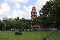 Parkje bij Yangon