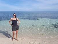 Het verlaten strandje