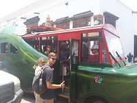 Foute toeristenbus, haha!
