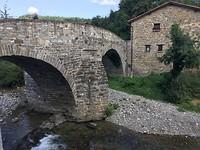 De oude brug van Zubiri.