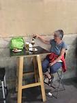 Bier en tapas in Pamplona.