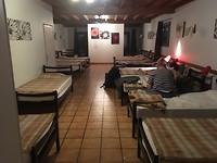 De slaapzaal in Saint Jean.