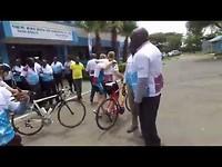 Lieke fietst voor Water for Life - dag 10
