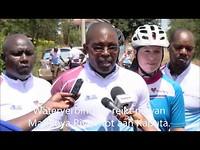 Lieke fietst voor Water for Life - dag 14