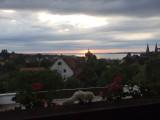 Zonsondergang vanaf ons balkon in Bregenz!