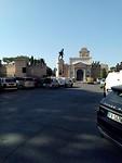 Op weg naar Sint Jan in  Lateranen - door de Porta Pia