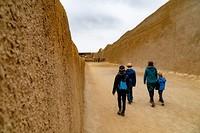 Bezoek aan Chan Chan, voormalige hoofdstad van het Chimú-rijk.