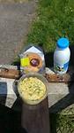 Heerlijke lunch onderweg van de Lidl