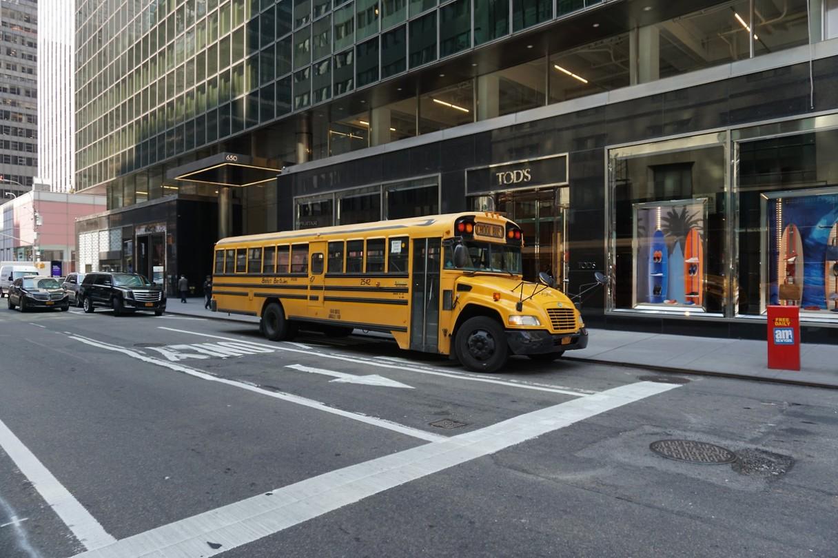Oude Schoolbus