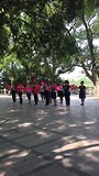 Dansende dames in Guilin