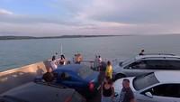 Nog meer van de veerboot en omgeving, gewoon te leuk