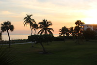 Zonsondergang aan de Golf van Mexico