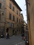Straat in Siena
