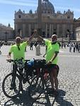 Aankomst in Vatikaanstad
