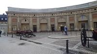Stockholm Paleis inspectie van de wacht