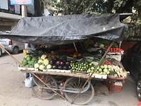Fruit en groentenkraampje