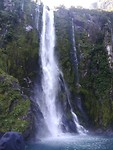 Milford sound grote waterval