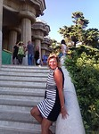 Wilma in Park guell