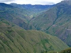 De weg naar Kuélap