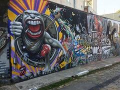 Street art the stones