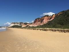red beach tussen Arraial d'Ayuda en Trancoso