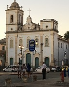 Kerk in historisch centrum