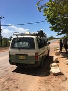 Weer terug naar paramaribo