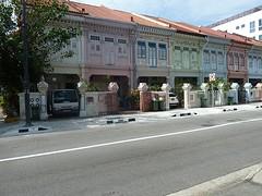 Huisjes in de wijk Gelang