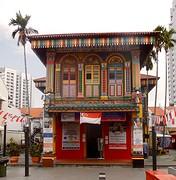 China Town huisje