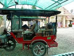 Wachtende tuktukjes