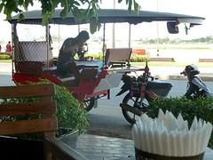 Etende tuktuk