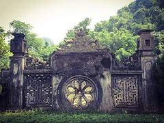 Zijwand King Dinh tempel
