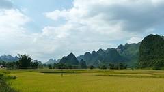 View op weg naar Ban Gioc