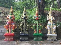 Vier wachters tempel @ Ko Phayam