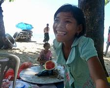 Visverkoopster @ Maungmagan beach