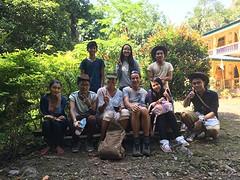 Met onze mede hikers mt Zwegabin