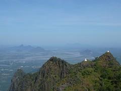View vanaf Mt Zwegabin