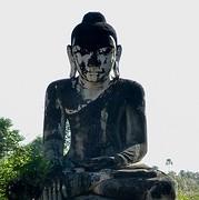 Prachtige oude Budhha Inwa