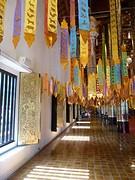 Linten in de Wat Phan Tao