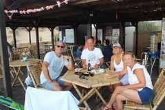 Stranddag met z'n vieren in Buggerru